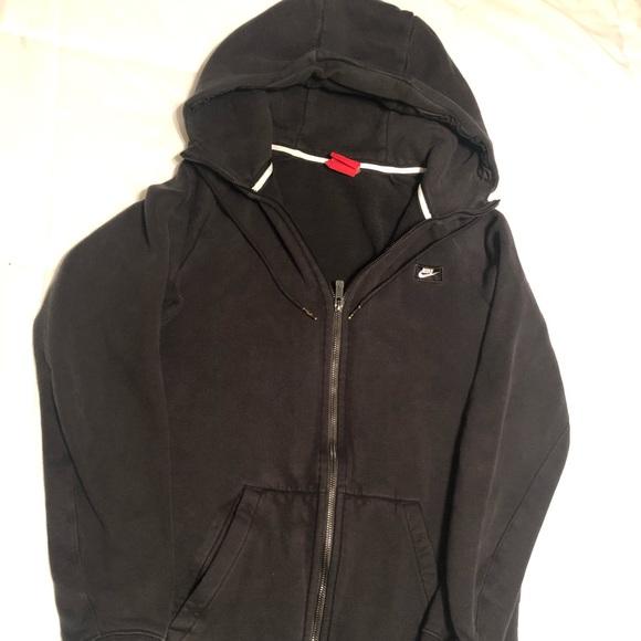 Nike boys full zip hooded sweatshirt